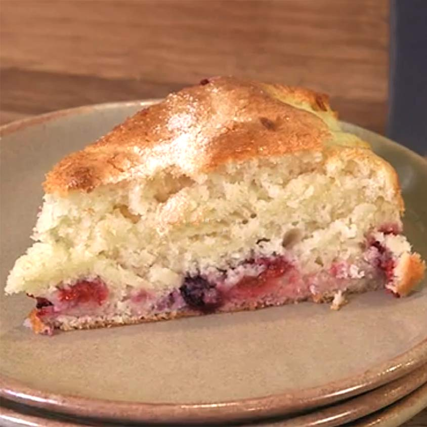 raspberry yogurt cake recipe